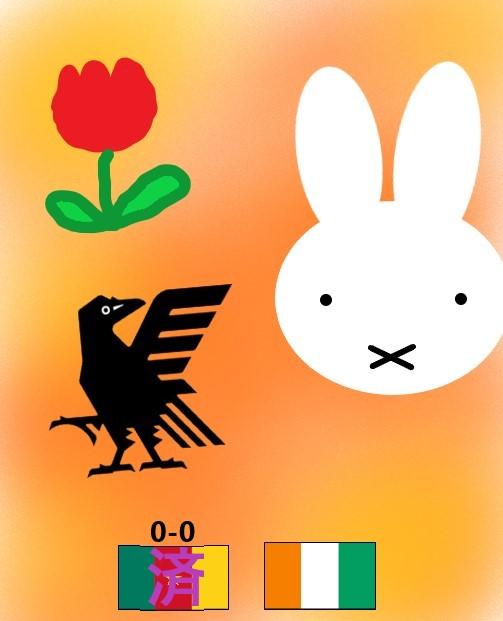 オランダユトレヒトでアフリカ勢と対戦2試合目.jpg